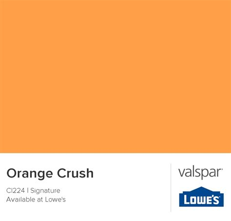 orange crush from valspar remodel color valspar orange crush and crushes