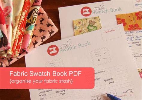 Fabric Swatch Organizer Pdf Template Organize Your Fabric Stash Organizing Fabric Stash Fabric Swatch Book Template