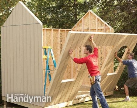 how to build a backyard storage shed 25 awesome garden storage ideas for crafty handymen and