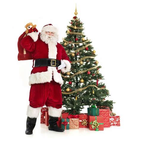 santa claus with tree images santa claus costumes gallery slideshow