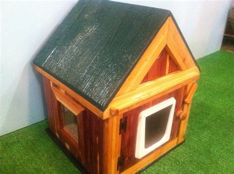 outdoor cat house ultimate outdoor heated cedar cat house bed shelter bed