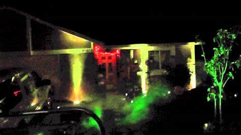house uplighting uplighting house halloween light show 2012 american dj mega par profile led flat par