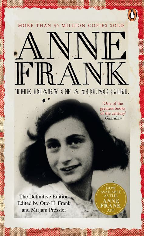 anne frank the biography book the diary of a young girl penguin books australia
