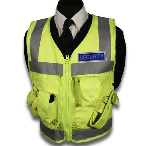 security vest protec security guard high visability tactical vest ebay
