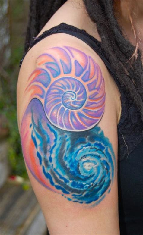 spiral tattoos 30 spiral tattoos on shoulder