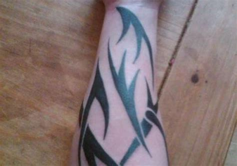 100 s of forearm tribal tattoo design ideas pictures gallery