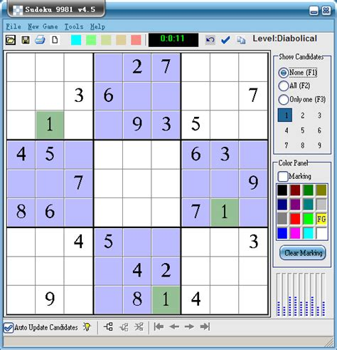 printable sudoku with candidates candidate function of sudoku 9981