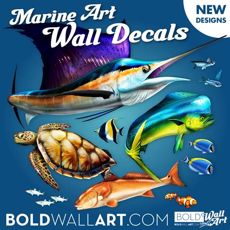 wall stickers fish fish wall decals removable fish wall stickers bold wall