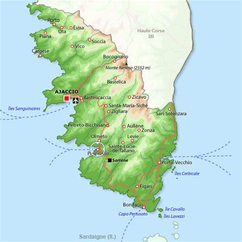 Appartement à Propriano, location vacances Corse du Sud : Disponible pour 5 personnes. A 2 km