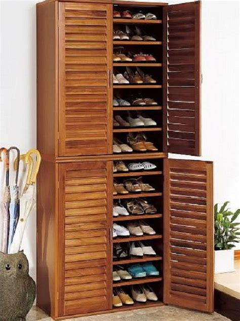 shoe storage cabinet 30 great shoe storage ideas to keep your footwear safe