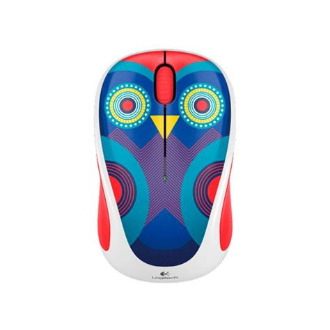 Wireless Mouse Play Collection E Smile Ophelia Owl Ws logitech wireless m317c mouse ophelia owl inal 225 mbrico