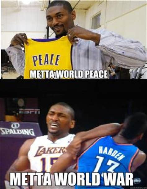 Ron Artest Meme - ron artest jokes kappit