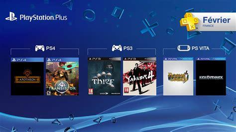 Murah Kaset Original Sony Ps4 Le Tour De 2017 Reg 2 playstation plus les jeux gratuits de f 233 vrier 2015 annonc 233 s