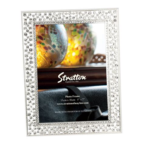 cornici swarovski stratton sparkly swarovski elements photo frames