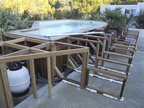piscine hors sol rectangulaire 623 habillage sur mesure d une piscine hors sol 224 allauch