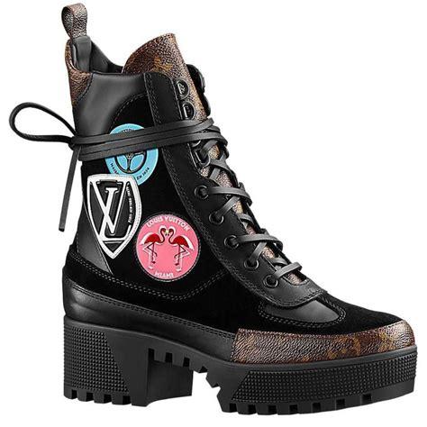 louis vuitton combat boots louis vuitton checkpoint combat desert boot with stickers