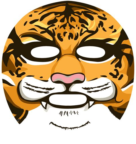 114 snp animal tiger wrinkle mask from sd biotechnologies