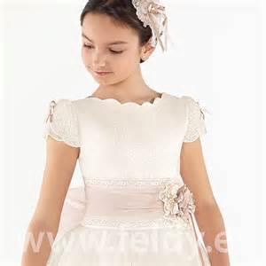 quiero ver imagenes de vestidos hechos en porcelana fria vestido comuni 243 n ni 241 a aire barcelona 2017 modelo idaly