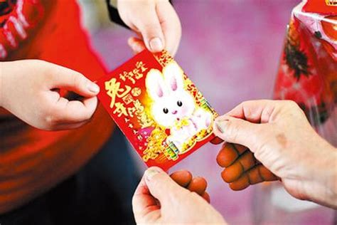 new year lucky money etiquette lucky money enters new age china org cn