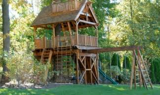 Backyard Casita Plans La Cabane En Bois Pour Enfant Id 233 Es De D 233 Co Originales