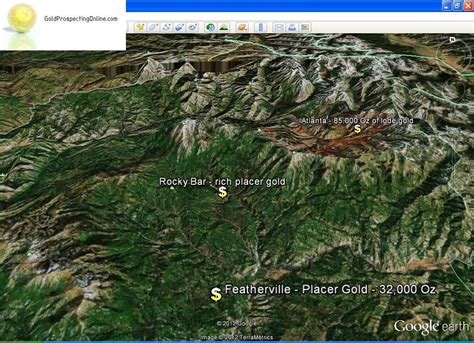 Finding Gold Idaho Gold Prospecting Equipment Tips Gold Maps