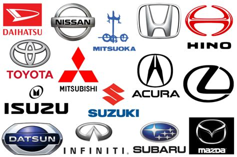 japanese auto care japanese car brands companies and manufacturers car