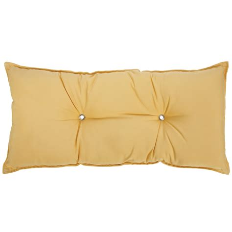 Hammock Pillows tufted hammock pillow canary yellow b tyl hatteras hammocks patio furniture pillows