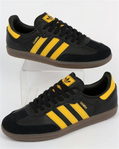 Sepatu Adidas City Boot adidas samba og trainers black bold gold leather shoes