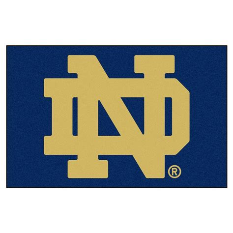 notre dame colors fanmats notre dame 1 ft 7 in x 2 ft 6 in