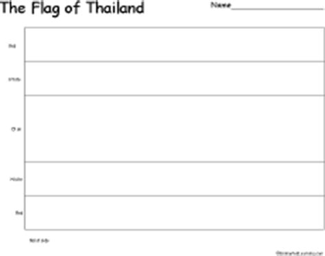 how to draw thailand flag