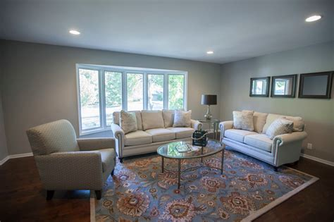 mindful gray living room sherwin williams mindful gray paint antique brown wood floors transitional living room