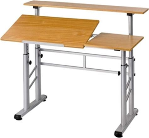 safco split level drafting table safco height adjustable split level drafting table 3965mo