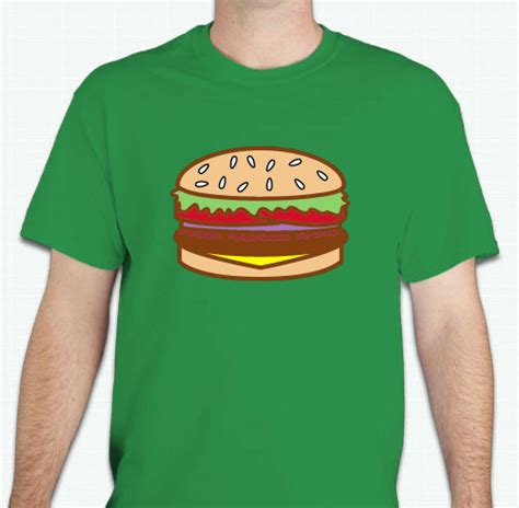 food t shirts custom design ideas