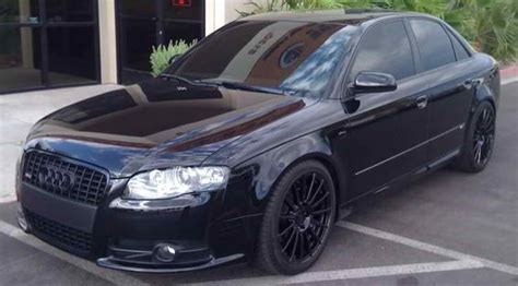murdered out audi a4 audi a4 2014 blacked out