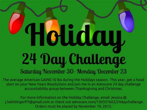 advocare 24 day challenge success jh personal helmlinger personal