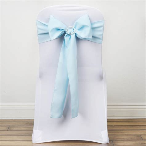 Wedding Chair Bows by 150 Polyester Chair Sashes Ties Bows Wedding
