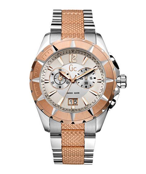 Gc X5200 Rosegold gc watches gold tone bezel steel designer jewellery sale gc watches secretsales