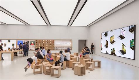Modern Ceilings stunning new apple store designs in london and nyc