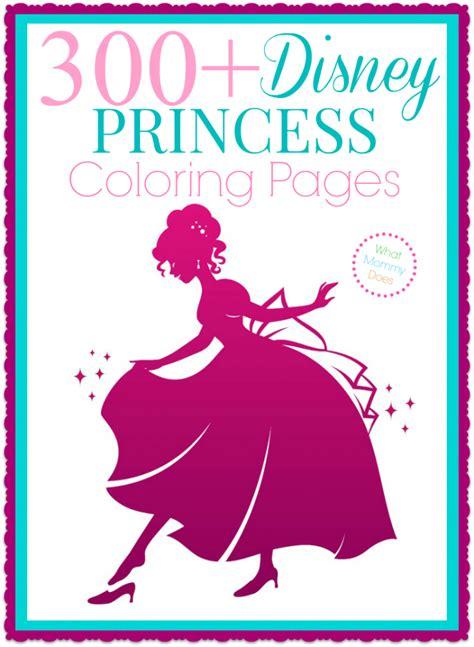 Free Printable Disney Princess Coloring Pages Elsa Anna Disney Princess Coloring Poster