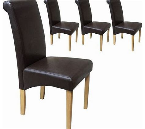 Chair Upholstery Prices by Leather Dining Chair Your Price Furniture Set Of 4 Faux
