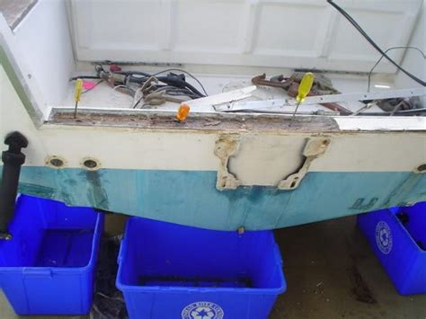 kijiji grady white boats transom repair required boat design forums