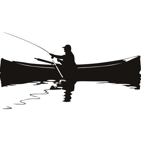 man fishing in boat clip art fishing man boat fishing sports and hobbies wall art