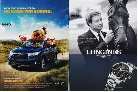car ads 2016 toyota highlander 2014 longines simon baker magazine