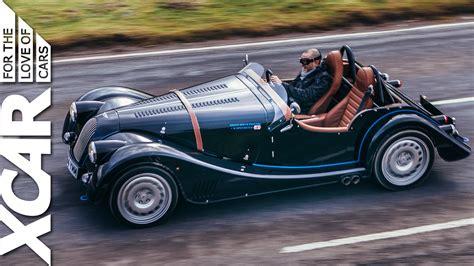 morgans car plus 8 speedster looks retro sounds like thunder