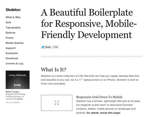 skeleton responsive template 11 lovable responsive themes available for free