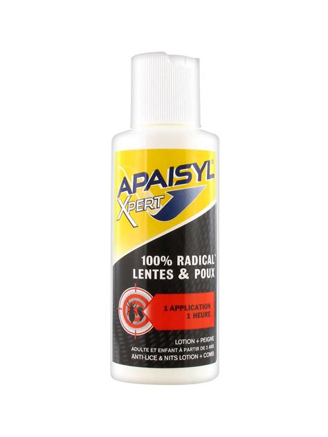apaisyl xpert 100 radical lice and eggs 100ml buy at