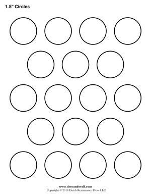 Small Circle Coloring Page Murderthestout Small Circle Template Printable
