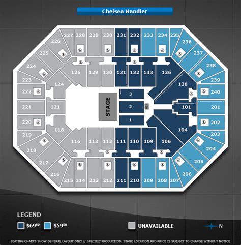 target center floor plan chelsea handler