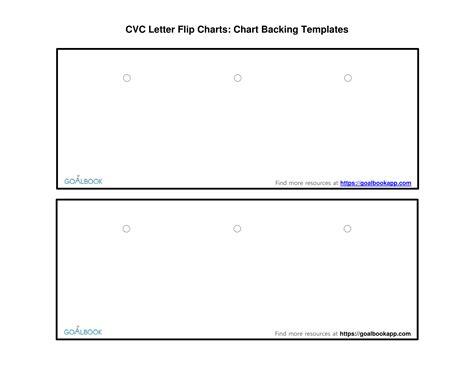 flip chart template