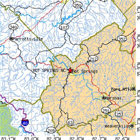 springs carolina map springs carolina nc population data races